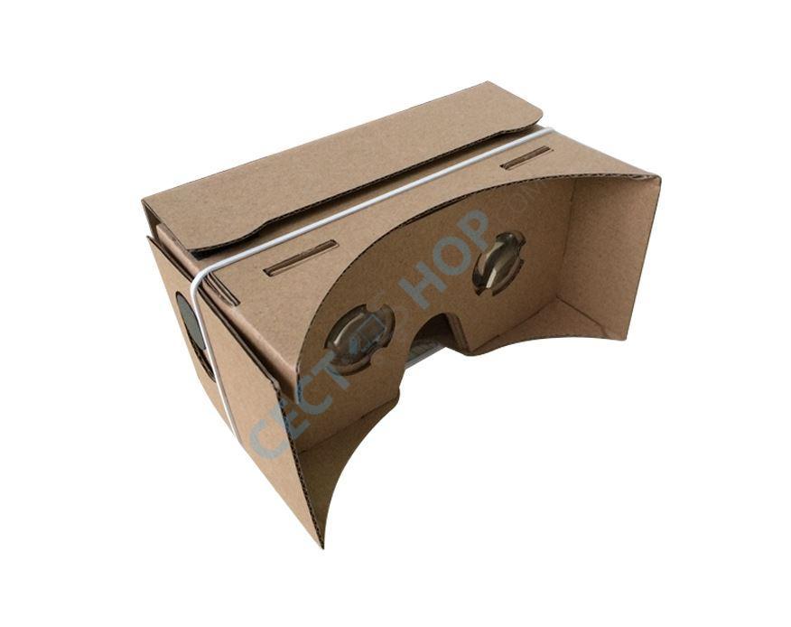 diy google cardboard virtual reality vr 3d brille f r iphone samsung android handys. Black Bedroom Furniture Sets. Home Design Ideas